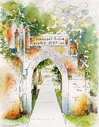 Memorial Gates Print by Pat Katz