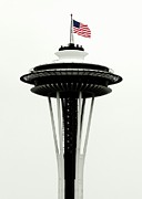 Patriotism Prints - Memorial Needle Print by Benjamin Yeager