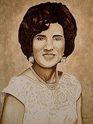 Photo  Paintings - Memorial of Mom by Al  Molina