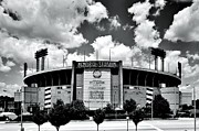 Baltimore Orioles Stadium Framed Prints - Memorial Stadium Framed Print by Benjamin Yeager