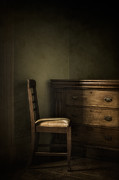 Vintage Chair Prints - Memories  Print by Amy Weiss