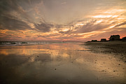 Reflecting Water Prints - Memories Print by Betsy A Cutler East Coast Barrier Islands