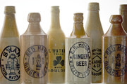 Stoneware Prints - Memories in a Bottle Print by Holly Kempe