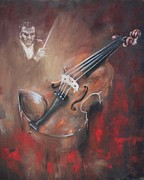 Violin Pastels - Memories by Lynn Wragg