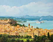 Memories Of Corfu Print by Kiril Stanchev