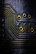 Industrial Art - Memory Chip Number Two by Bob Orsillo