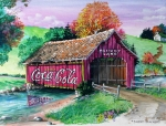 Coca Cola Painting Framed Prints - Memory Lane Framed Print by Sherd Maynard