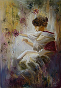 Classics Paintings - Memory by Tania Baeva