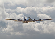 Aviation Print Art - Memphis Belle - Homecoming by Pat Speirs