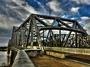 Memphis Tennessee Prints - Memphis - Memphis and Arkansas Bridge 002 Print by Lance Vaughn