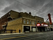 Tennessee Landmark Prints - Memphis - The Orpheum 001 Print by Lance Vaughn