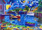 Menemsha Row Boat Print by Michael Phelps Morse