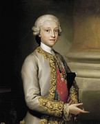 Youthful Photos - Mengs, Anton Raphael 1728-1779. Infante by Everett