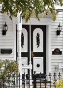 Townhouses Photos - Menomonee Street Old Town Chicago by Christine Till