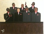 Men's Chorus  Print by Karen Terry