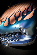 Classic Hot Rods Prints - MERC METAL- Metal and Speed Print by Holly Martin