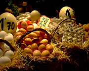 Eggs Photos - Mercat de la Boqueria by Lisa  Phillips
