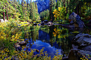 Sierra Nevada Photos - Merced River Yosemite National Park by Scott McGuire