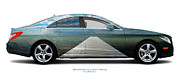 Kattegat Framed Prints - Mercedes-Benz CLS550 Trelleborg Framed Print by Jan Faul