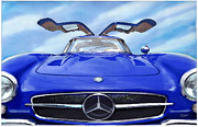 Rod Seel - Mercedes Gullwing in Blue