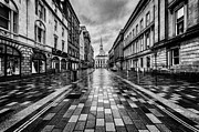 Gritty Framed Prints - Merchant City Glasgow Framed Print by John Farnan