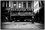 Pacific Northwest Framed Prints - Merchants Cafe Framed Print by Tanya Harrison