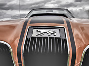 Mercury Hot Rod Photos - Mercury Cougar by Thomas Young