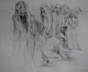 Mercy Sketch Print by Jani Freimann