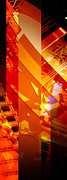 Merged Prints - Merged - Arched Orange Print by Jon Berry