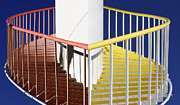 Merged Photo Prints - Merging Steps Print by Robert Woodward