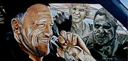 Walking Dead Paintings - Merles Last Stand by Al  Molina