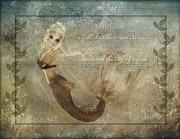 Mermaid-2 Photoart Print by Becky Hayes