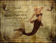 Mermaid-3 Photoart Print by Becky Hayes