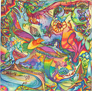 Color Symbolism Originals - Mermaid Towne by DiNo and Dart