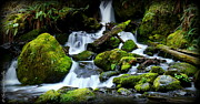 Christopher Fridley Prints - Merriman Falls Print by Christopher Fridley