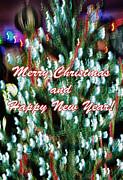 Merry Christmas 2 Print by Skip Nall