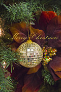 Molly Heng Metal Prints - Merry Christmas Metal Print by Molly Heng