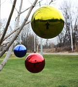 Installation Art Metal Prints - Merry Christmas Metal Print by Pat Purdy