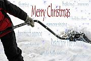 Cathy  Beharriell - Merry Christmas Ready For The Snow