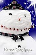 Cathy  Beharriell - Merry Christmas Snowman
