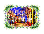 Christmas Card Photo Originals - Merry Xmas 001 by Jack Torcello