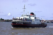 Fab Four Photo Prints - Mersey Ferry Liverpool UK Print by Steve Kearns