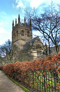 D5000 Prints - Merton college Chapel Print by Chris Day