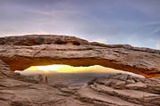 Colorado River Photos - Mesa Arch Sunrise by Silvio Ligutti