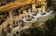 Native Architecture Posters - Mesa Verde Colorado Poster by Bob Christopher