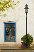 Lawrence Costales - Mesilla Plaza Window