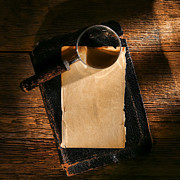 Parchment Art - Message Waiting by Olivier Le Queinec