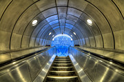 Metro Photo Prints - Metal Fusion Print by Evelina Kremsdorf