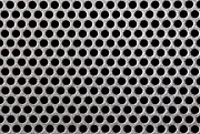Meshed Photo Posters - Metal grill dot pattern Poster by Simon Bratt Photography
