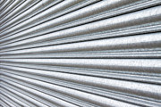 Entrance Shop Front Prints - Metal Shutter  Print by Fizzy Image